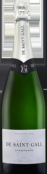 Champagne De Saint Gall Blanc de Blancs 1er Cru Brut