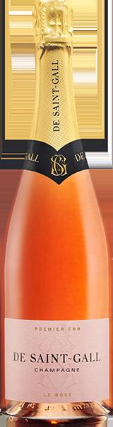 Champagne De Saint Gall Rosé 1er Cru Brut