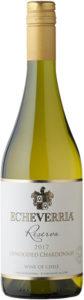 Echeverria Chardonnay Reserva - Unwooded