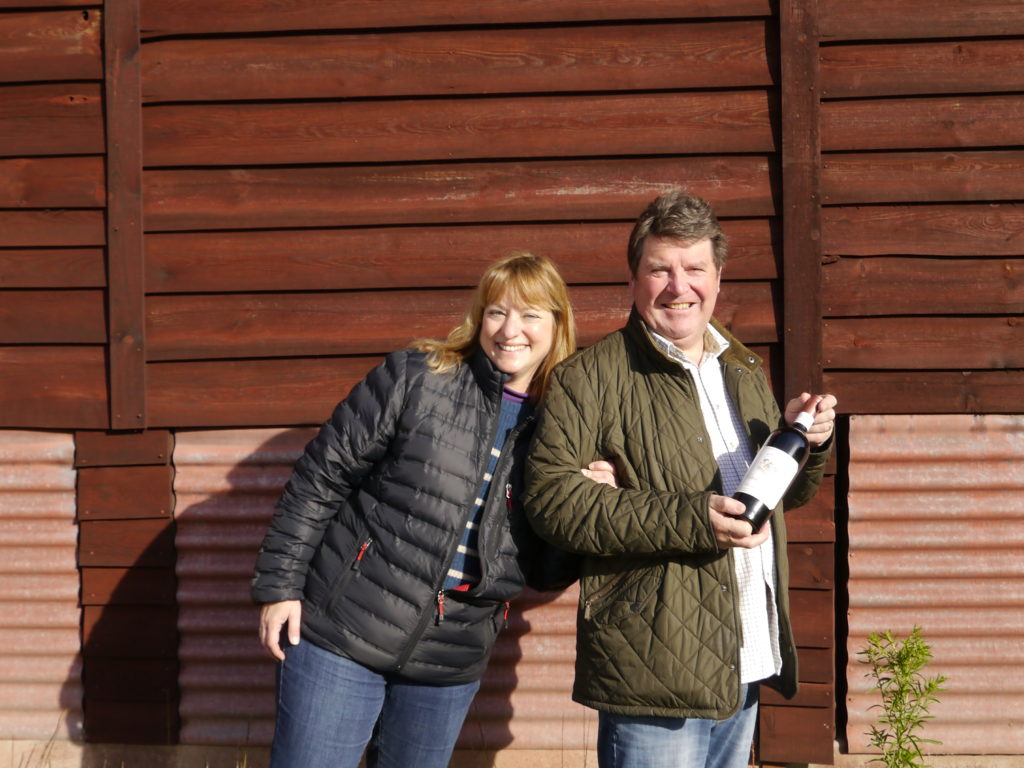Steve & Diana @ Chateau La Corne