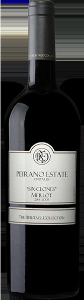 "Peirano Estate Vineyards ""Six-Clone"" Merlot"