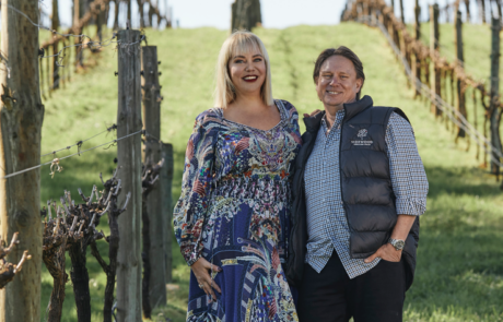 Sidewood - Owners & Vignerons, Cassandra & Owen Inglis