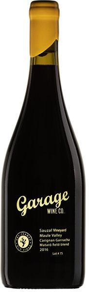 Garage Wine Co. Sauzal Vineyard Carignan-Garnacha-Mataro field-blend Lot #75