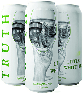 Truth Little White Lie Sparkling White Wine