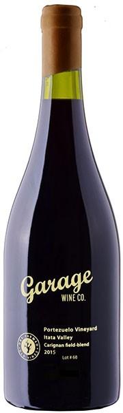 Garage Wine Co Portezuelo Vineyard