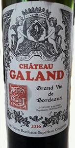 Chateau Galand Bordeaux Superieur
