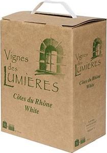 Vignes de Lumieres Côtes du Rhône Blanc 3L BiB