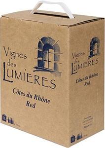 Vignes de Lumieres Côtes du Rhône Rouge 3L BiB