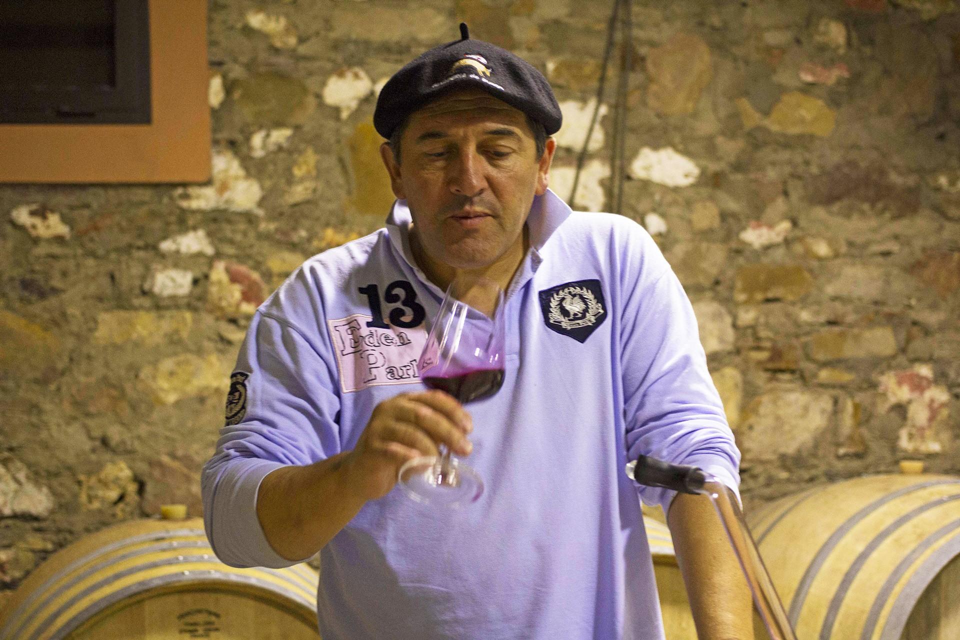 La Ferme Rouge Co-owner & winemaker - Jacques Poulain