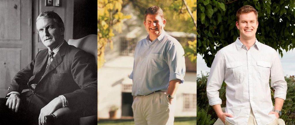 (L to R) Peter, Simon, & Murray Barlow - Rustenberg