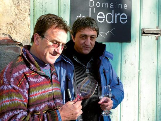 Domaine de l'Edre - Pascal Dieunidou & Jacques Castany