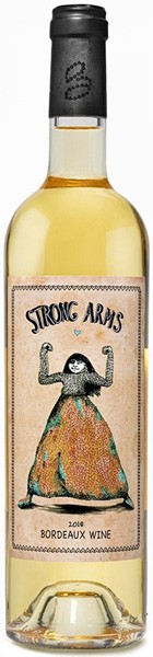 Strong Arms Bordeaux White