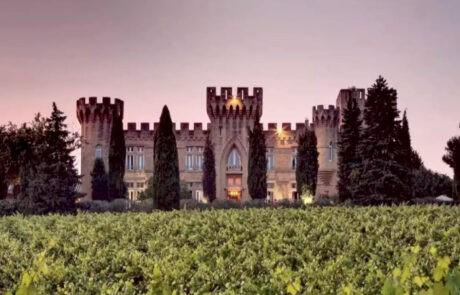 Chateau des Fines Roches Chateauneuf-du-Pape castle