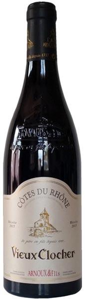 """Arnoux Cotes du Rhone Rouge """"Vieux Clocher"""""""