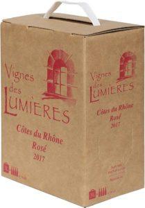 Vignes des Lumières Cotes du Rhone Rosé