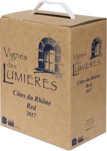 Vignes des Lumières Cotes du Rhone Rouge - Bag in Box